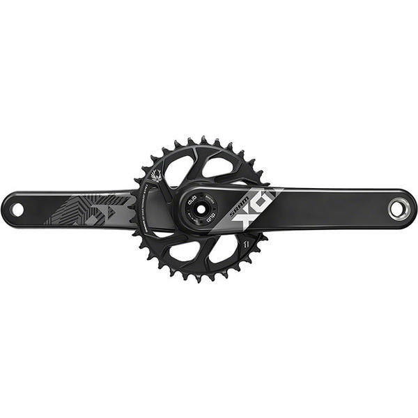 SRAM X01 Carbon Eagle DUB Boost Crankset Color: Black