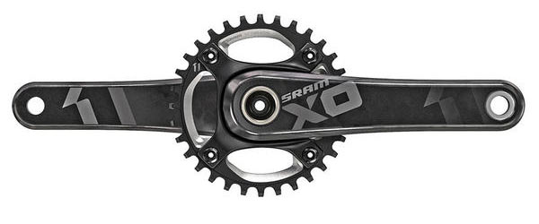SRAM X01 DH X-Sync Crankset Color: Black
