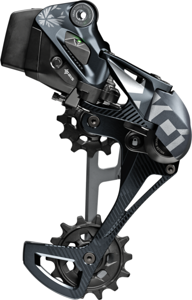 SRAM X01 Eagle AXS Rear Derailleur Color: Black