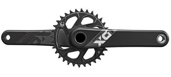 SRAM X01 Eagle Crankset Color: Black