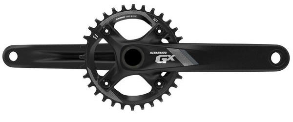 SRAM GX-1000 1x Crankset Color: Black