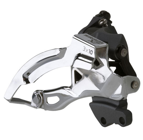 SRAM X7 3x10 Front Derailleur<br>(High Direct-mount, Bottom-pull) High Direct-mount