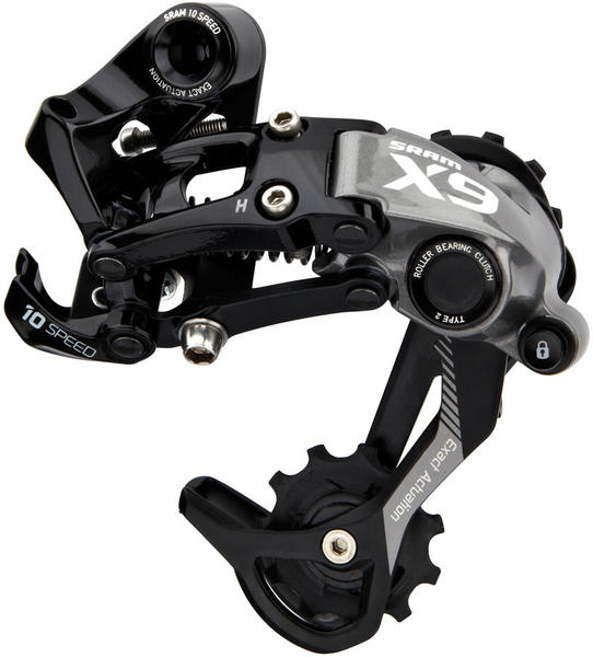 SRAM X9 Type 2 10-Speed Rear Derailleur