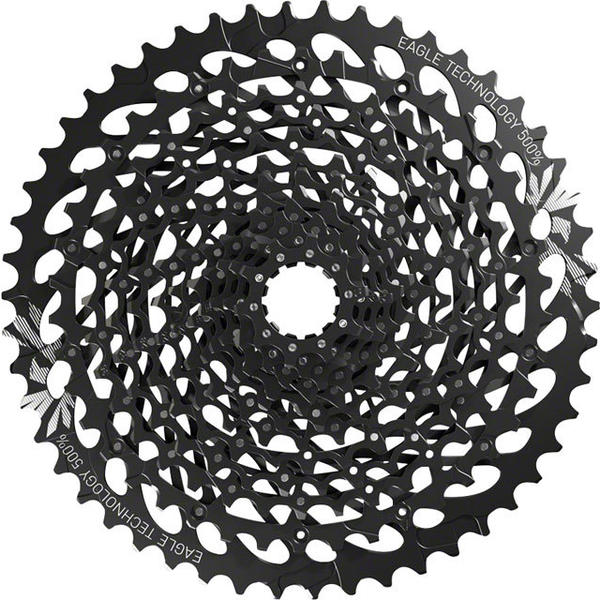SRAM XG-1275 GX Eagle Cassette Color: Black