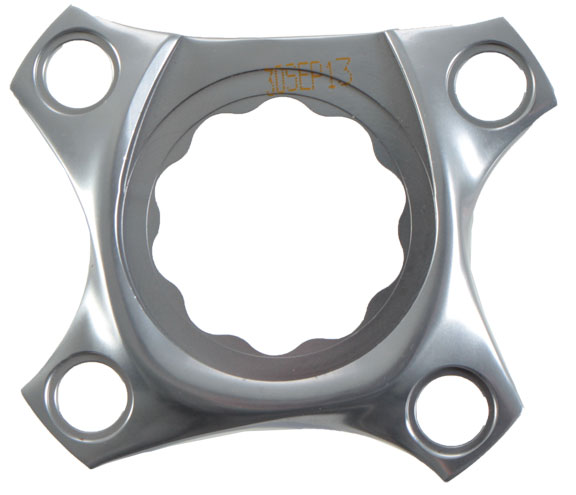SRAM XX1 1x S-Works Spider and bolts Color: Zephyr Grey