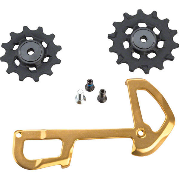 SRAM XX1 Eagle Ceramic Bearing Pulleys and Inner Cage Color: Gold
