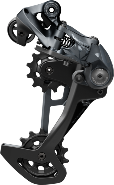 SRAM XX1 Eagle Rear Derailleur Color: Lunar