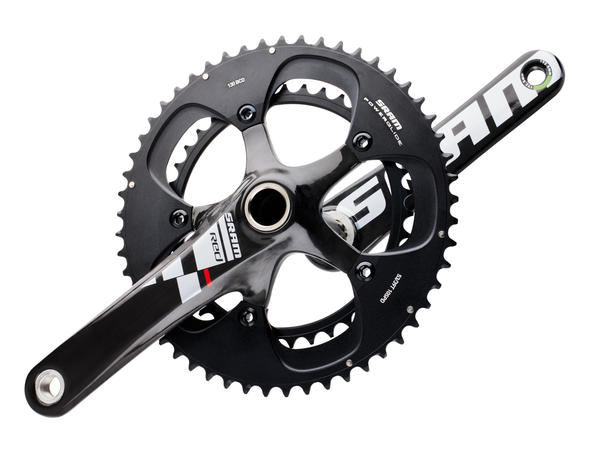 SRAM Black Red Crankset