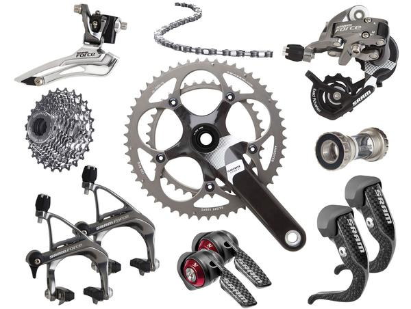 SRAM Force 10-speed Triathlon/Time Trial Components Kit (GXP Bottom Bracket)