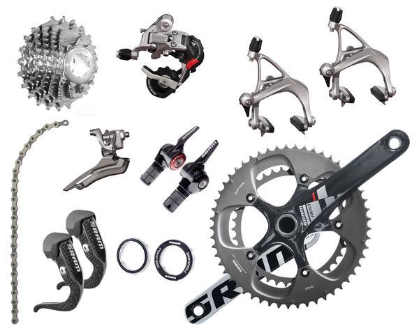 SRAM Red 10-speed Triathlon/Time Trial Components Kit (BB30 Bottom Bracket)