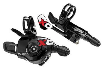 SRAM X0 Trigger Shifter Set (2 x 10-speed)
