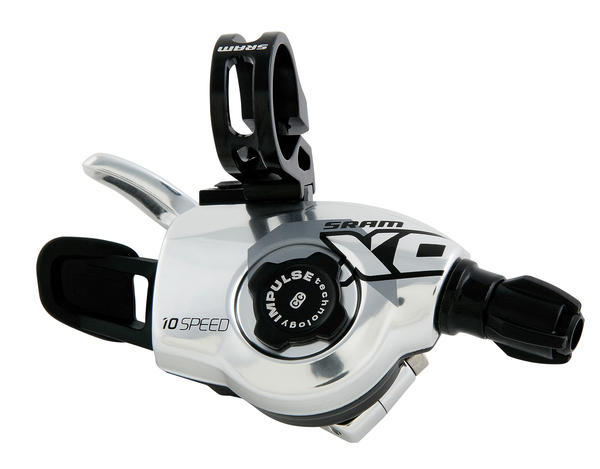 SRAM X0 2-Speed Front Trigger Shifter Color: Silver