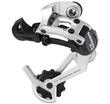 SRAM X-5 Rear Derailleur (Medium-cage, 9-speed)