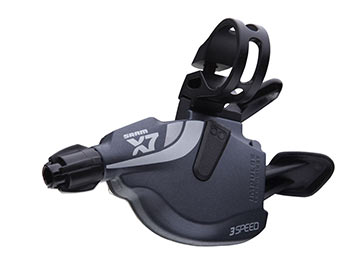 SRAM X7 Front Trigger Shifter (3-speed)