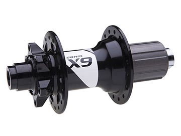 SRAM X9 Rear Hub (12 x 142mm Thru-axle)