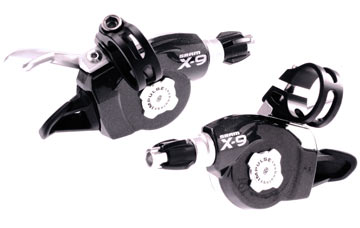 SRAM X9 3x9 Trigger Shifter Set