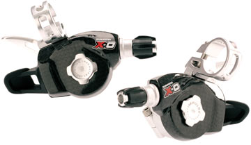 SRAM X0 Trigger Shifter Set (3x9-speed)