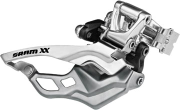 SRAM XX Front Derailleur<br>(High-clamp, Bottom-pull)