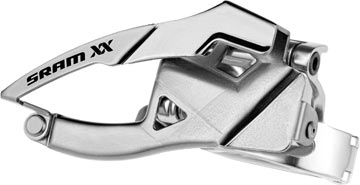 SRAM XX Front Derailleur<br>(Low-clamp, Top-pull)