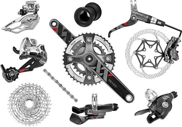 SRAM XX 10-speed Components Kit (BB30 Bottom Bracket)