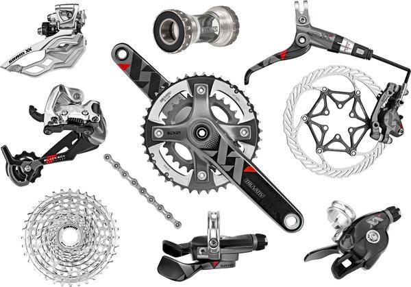 SRAM XX 10-speed Components Kit (GXP Bottom Bracket)
