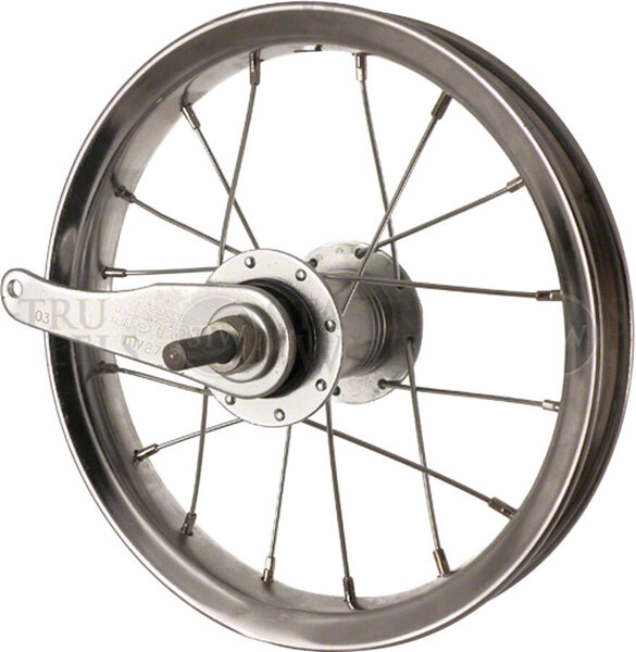Sta-Tru 12-inch Rear Wheel Color: Silver