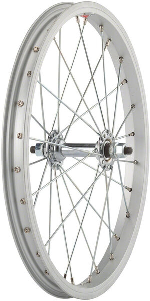 Sta-Tru 16-inch Front Wheel Color: Silver
