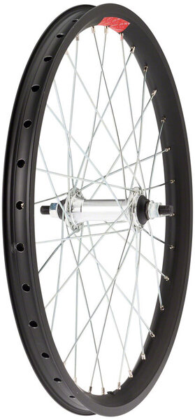 Sta-Tru 20-inch Double Wall Front Wheel Color: Black