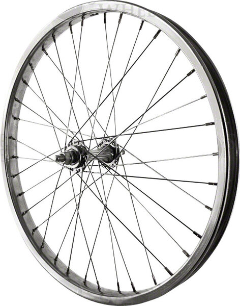 Sta-Tru 20-inch Steel Rim Front Wheel Color: Silver