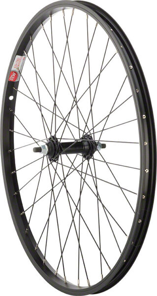 Sta-Tru 24-inch Front Wheel Axle | Color | Size: 100mm x 3/8-inch | Black | 24-inch