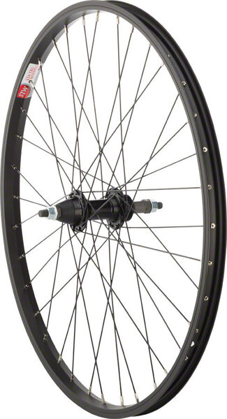 Sta-Tru 24-inch Rear Wheel Color: Black
