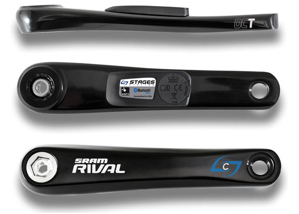Stages Cycling Stages Power Meter - SRAM Rival OCT GXP