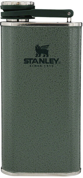Stanley Classic Wide Mouth Flask Color: Hammertone Green