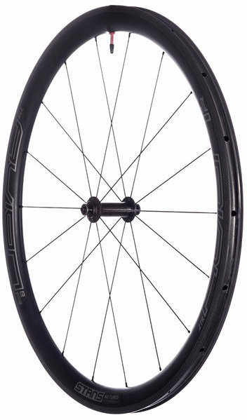 Stan's NoTubes Avion R Pro 700c Front Color: Black/white