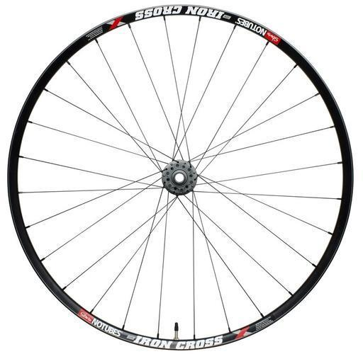 Stan's NoTubes Iron Cross Team Front Wheels