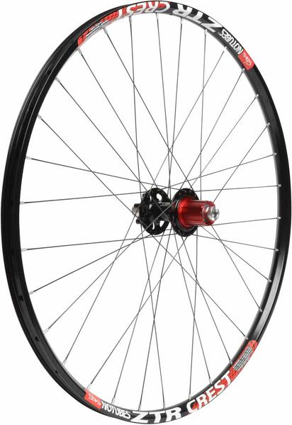 "Stan's NoTubes ZTR Crest 26"" Rear Wheel w/ Stan's 3.30 Hub"