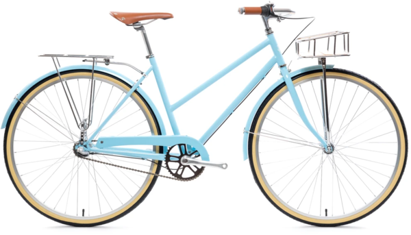 State Bicycle Co. City Bike - The Azure Deluxe 3-Speed