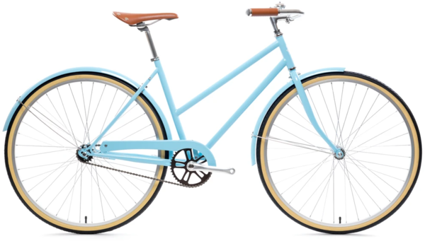 State Bicycle Co. City Bike - The Azure Single Speed