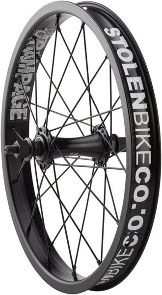 Stolen Rampage 16-inch Front Wheel Color: Black