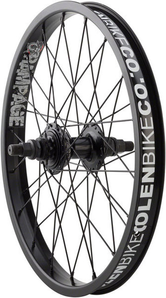 Stolen Rampage 18-inch Cassette Rear Wheel Color: Black