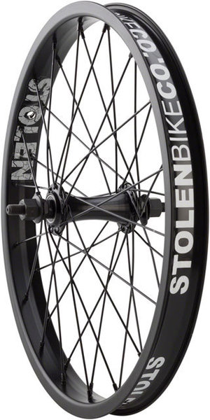 Stolen Rampage 18-inch Front Wheel Color: Black