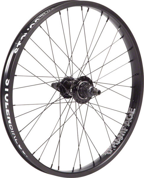 Stolen Rampage 20-inch Freecoaster Rear Wheel Color: Black
