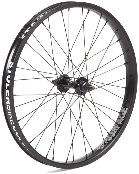 Stolen Rampage 20-inch Front Wheel Color: Black