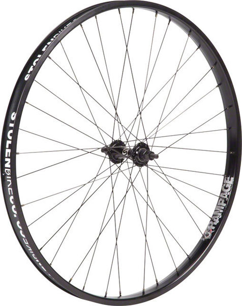 Stolen Rampage 26-inch Front Wheel Color: Black