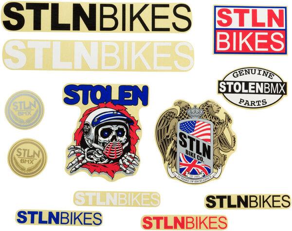 Stolen Sticker Pack: 12-piece Assorted