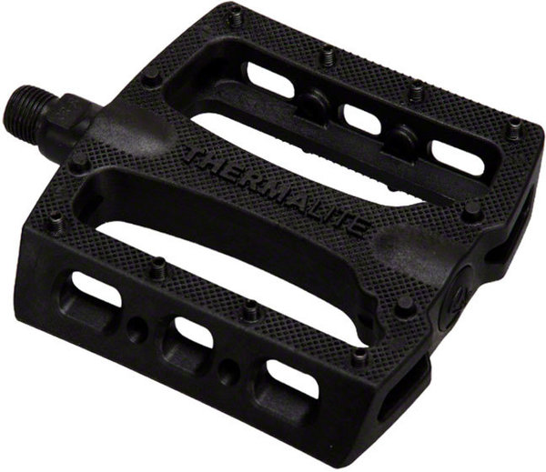 Stolen Thermalite 9/16-inch Platform Pedals Color: Black
