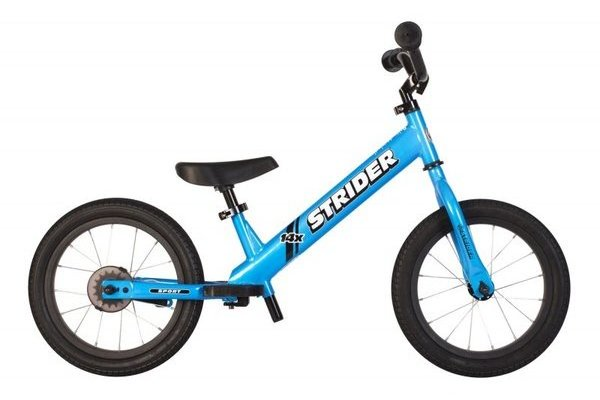 Strider 14x Sport Balance Bike Color: Blue