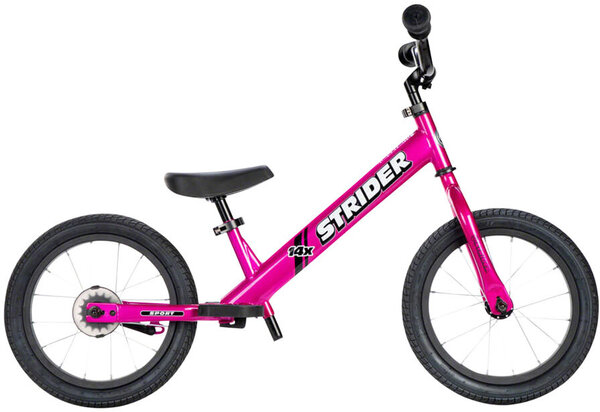 Strider 14x Sport Kids Balance Bike Color: Pink