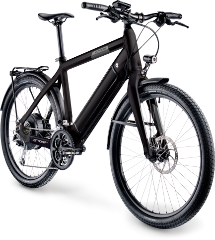 Stromer ST1 Platinum Sport Color: Black
