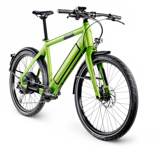 Stromer ST1 S Color: Green